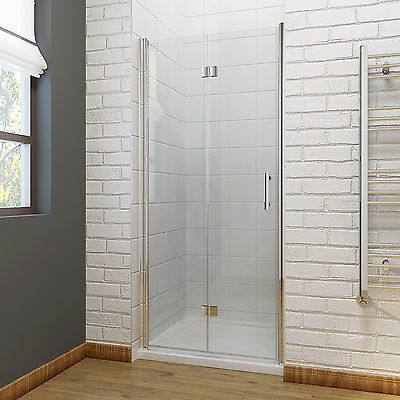 Frameless bi fold shower door hinge shower enclosure 700 for Bi fold screen doors