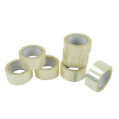 36 Roll Clear Carton Sealing Packing Shipping Tape 2 2.0mil 110yard 330ft