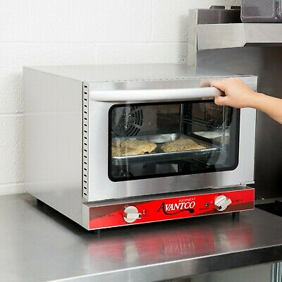 Quarter Size Commercial Restaurant Kitchen Countertop Electric Convection Oven