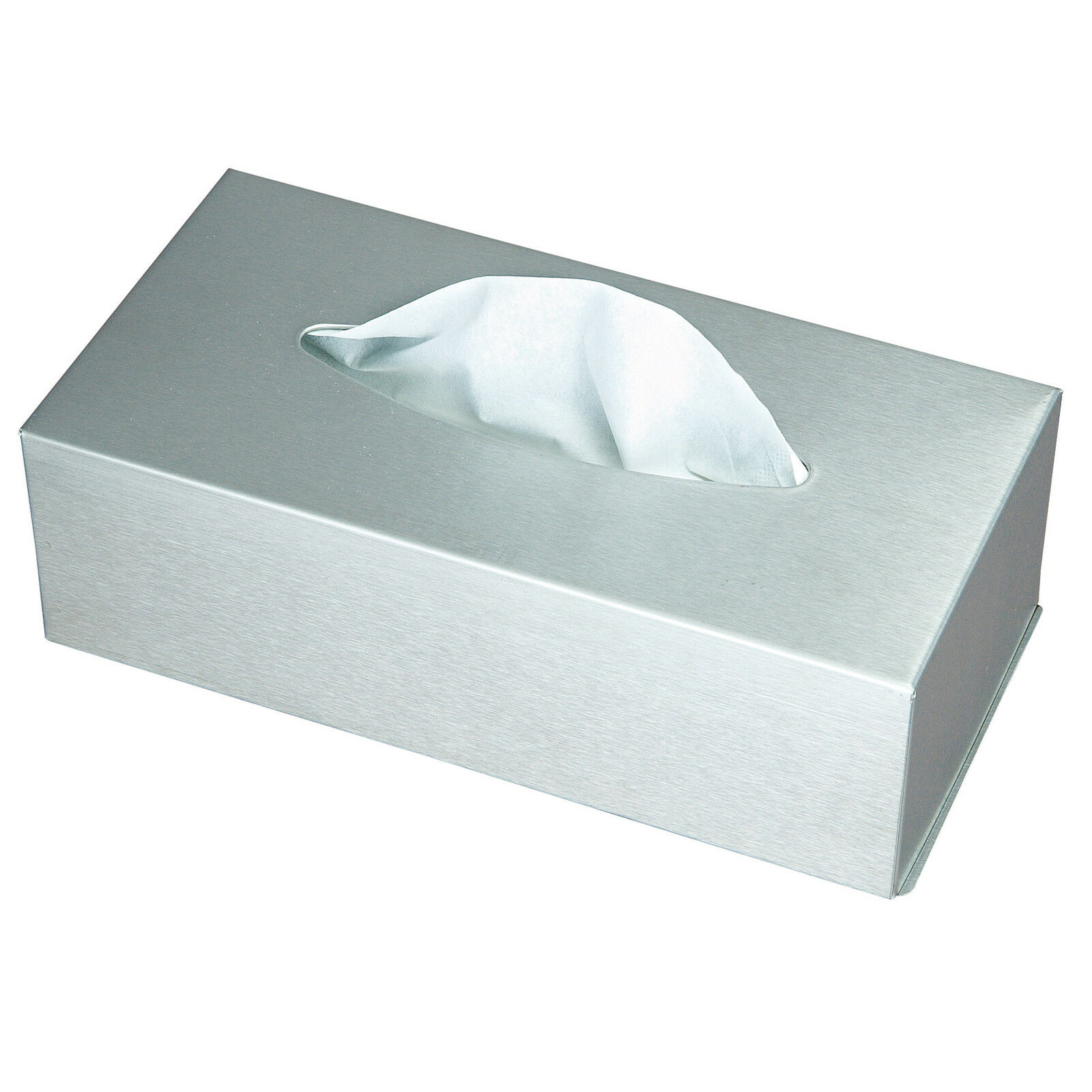 Kosmetikbox Kosmetiktuch Taschentuchbox Kosmetik Tücherbox Box Edelstahl matt