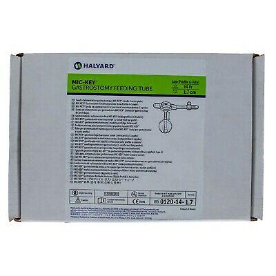 MIC-Key 0120-14-1.7, Low Profile Gastrostomy Feeding Tube Kit 14 Fr. 1.7 -