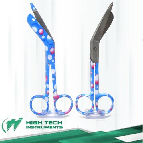 """2 Lister Bandage Scissors 5.5"""" Surgical Medical Instruments Nurse EMT Rescue"""