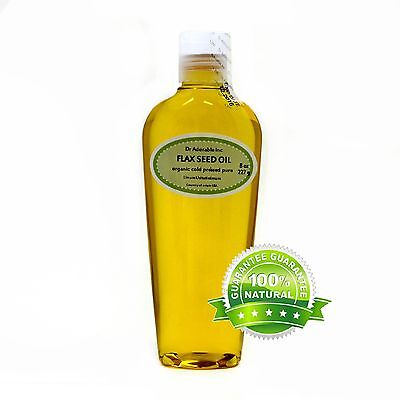 BEST PREMIUM FLAX SEED OIL PURE ORGANIC COLD PRESSED READY TO USE GREAT