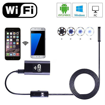 3.5M 6 LED Waterproof Android Endoscope Borescope Snake Inspection Camera Video