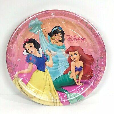 Disney Princess Party Tableware (Disney Princess Paper Plates Party Express Birthday Decorations Tableware Pink)