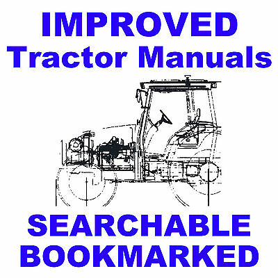 Ford Tw5 Tw15 Tw25 Tw35 Tractors Repair Workshop Service Manual Improved Cd