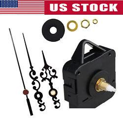 Replacement Quartz Wall Clock Movement Mechanism Motor Repair DIY Tool Part Kit
