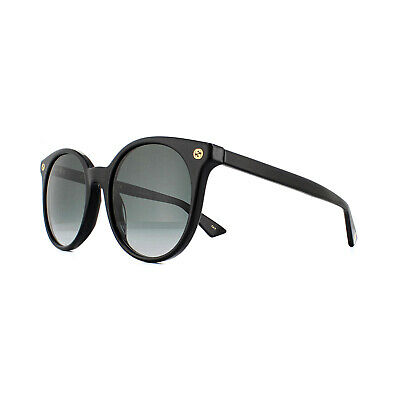 Gucci Sunglasses GG0091S 001 Black Grey Gradient