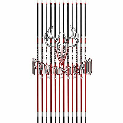 Carbon Express Arrow Maxima Red SD 350 Spine Bare Shafts 12pk #50869