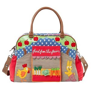 °NEU° Room Seven Oilily Wickeltasche Diaperbag~ Fresh Vegetables~Sommer 2013°°°