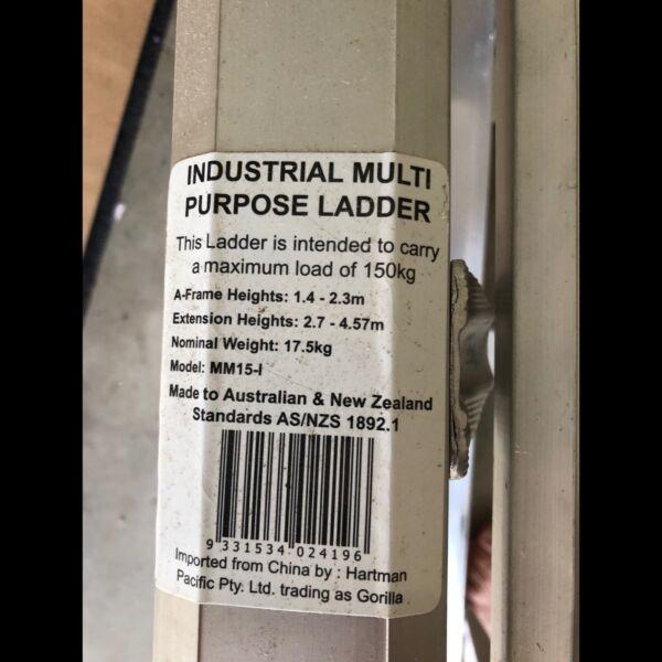 Gorilla Ladder Extension Kit & Step (KIT ONLY) | Ladders