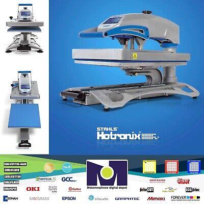 Draw-swing Heat Press Hotronix Fusion Iq Heat Press Xf-120 16 X 20 By Stahls