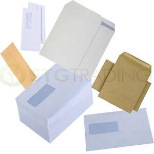 DL-C4-C5-C6-FULL-RANGE-OF-PAPER-ENVELOPES-PLAIN-WINDOW-WHITE-MANILLA