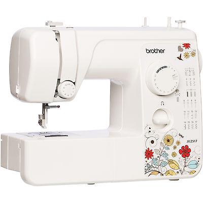 Brother JX2517 17-Stitch Sewing Machine with 38 Stitch Role Factory Refurbis