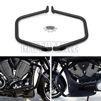 Engine Guard Crash Bars Kit Fit For Victory Cross Country Roads Hard Ball Magnum