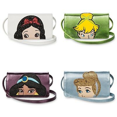 Danielle Nicole Disney Jasmine TinkerBell Snow White Phone Crossbody Bag Purse ](Tinkerbell Handbag)