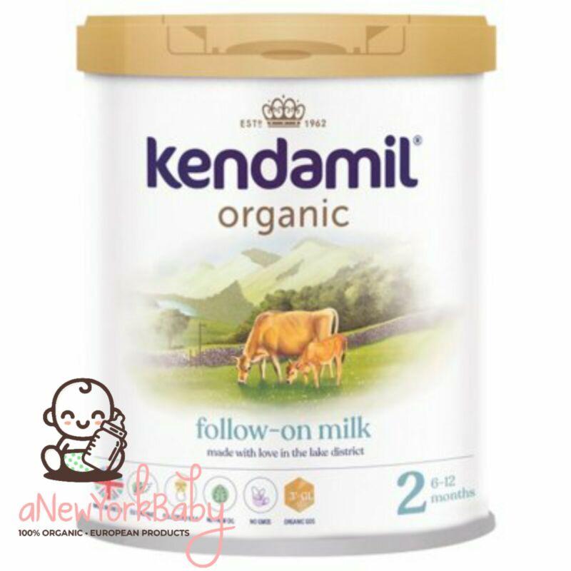 2 Cans of Kendamil Organic Powder Stage 2 Follow On Formula - 800g