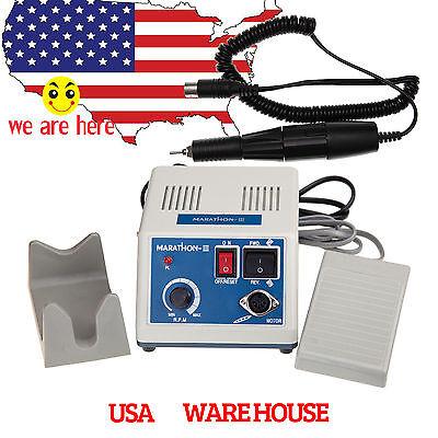 Marathon Dental Lab Electric Polisher Micro Motor N3 35k Rpm 35000 Handpiece Us