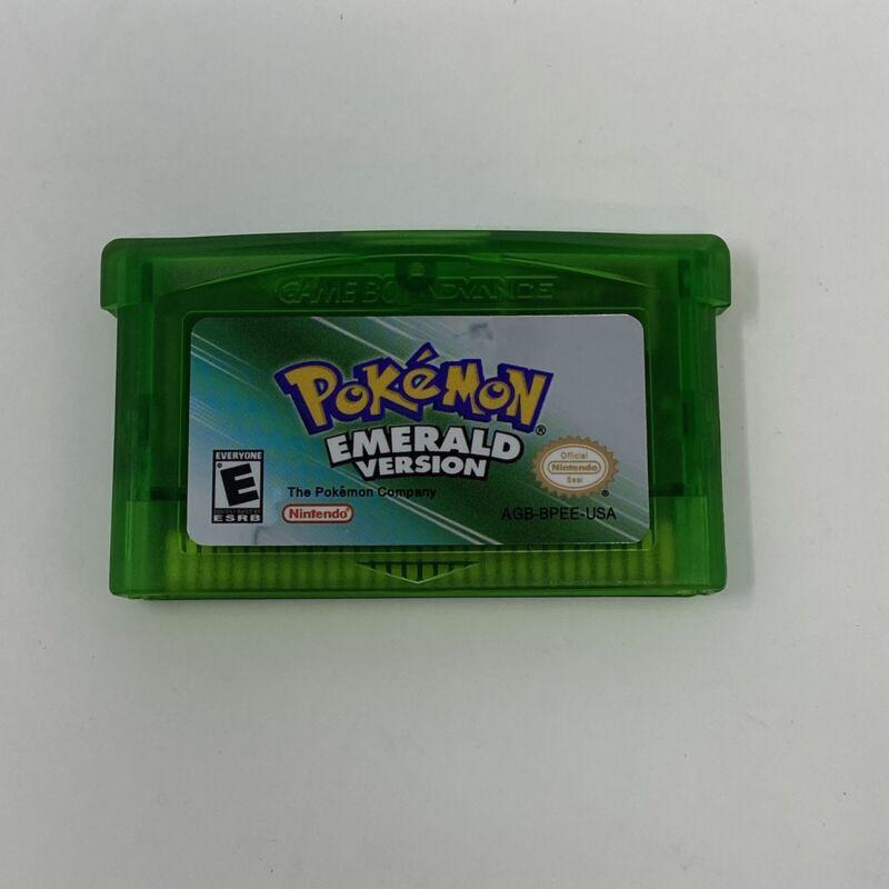 Pokemon Emerald Version Nintendo Gameboy Advance GBA Repro US Seller