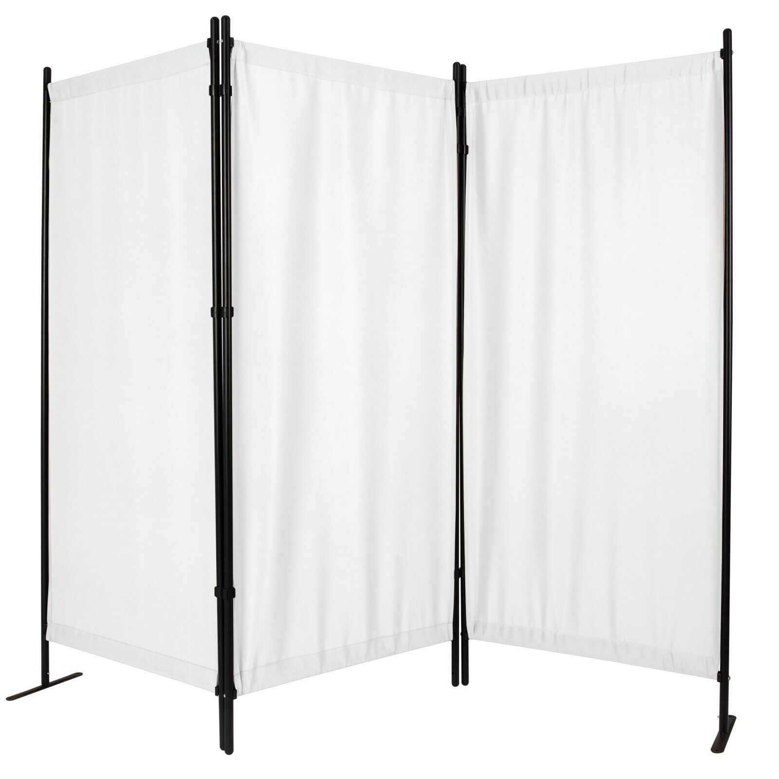 3 panel folding room dividers privacy screen