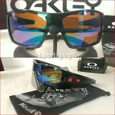 Oakley KVD Batwolf ~ OO9101-51 Polished Black w Prizm Shallow H2O Polarized Lens