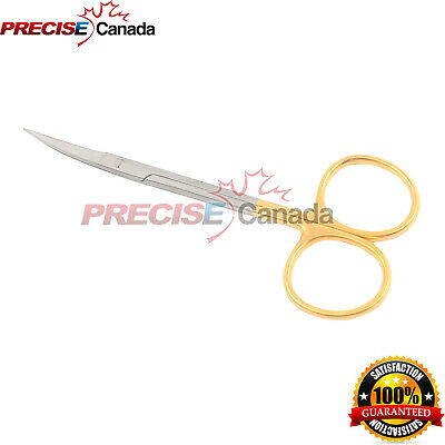 New Tc Iris Scissors 4.5 Curved Dental Surgical Instruments