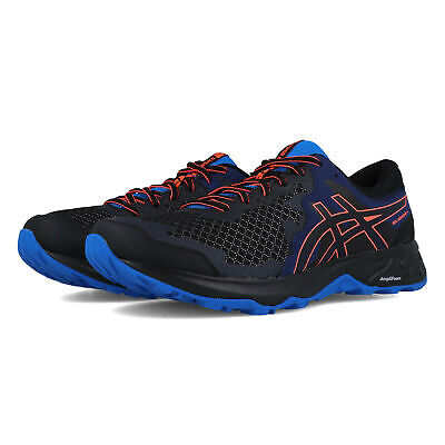 Asics Mens Gel-Sonoma 4 Trail Running Shoes Trainers - Black Blue Sports