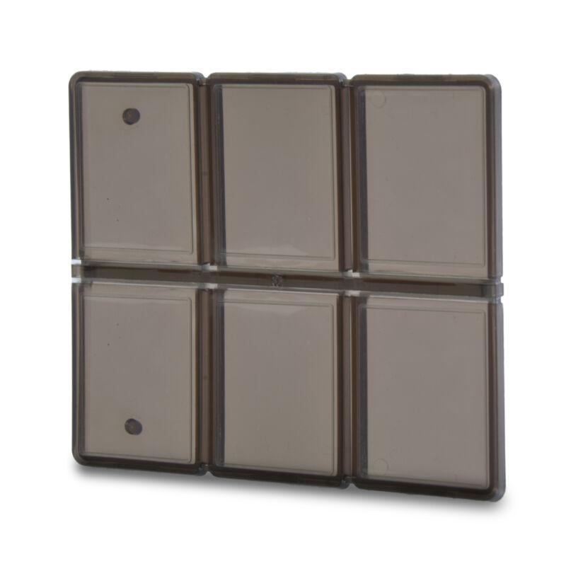 Pocket Memory Card Case Wallet Holder for 6 Standard SD MicroSD SDHC MMC