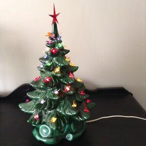 Ceramic christmas tree.