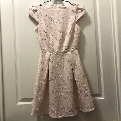 H&M Women's US2 Pink Cap Sleeve Dress NWT