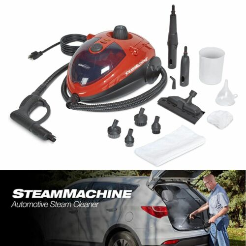 Car Steam Cleaner Machine 11 Accessories Detailing Cleaning Portable Compact