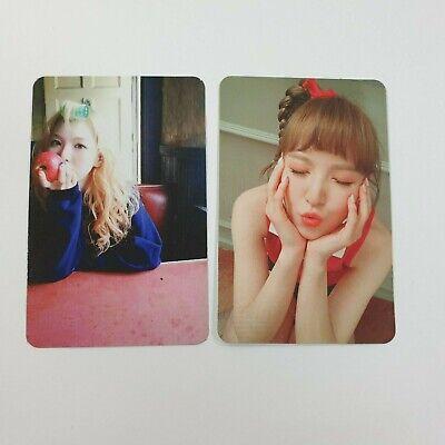 Red Velvet Ice Cream Cake Russian Roulette Official Wendy photocard 2p K-POP