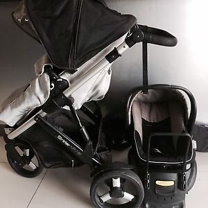 Steelcraft STRIDER PLUS Stroller & Car Capsule Southport Gold Coast City Preview