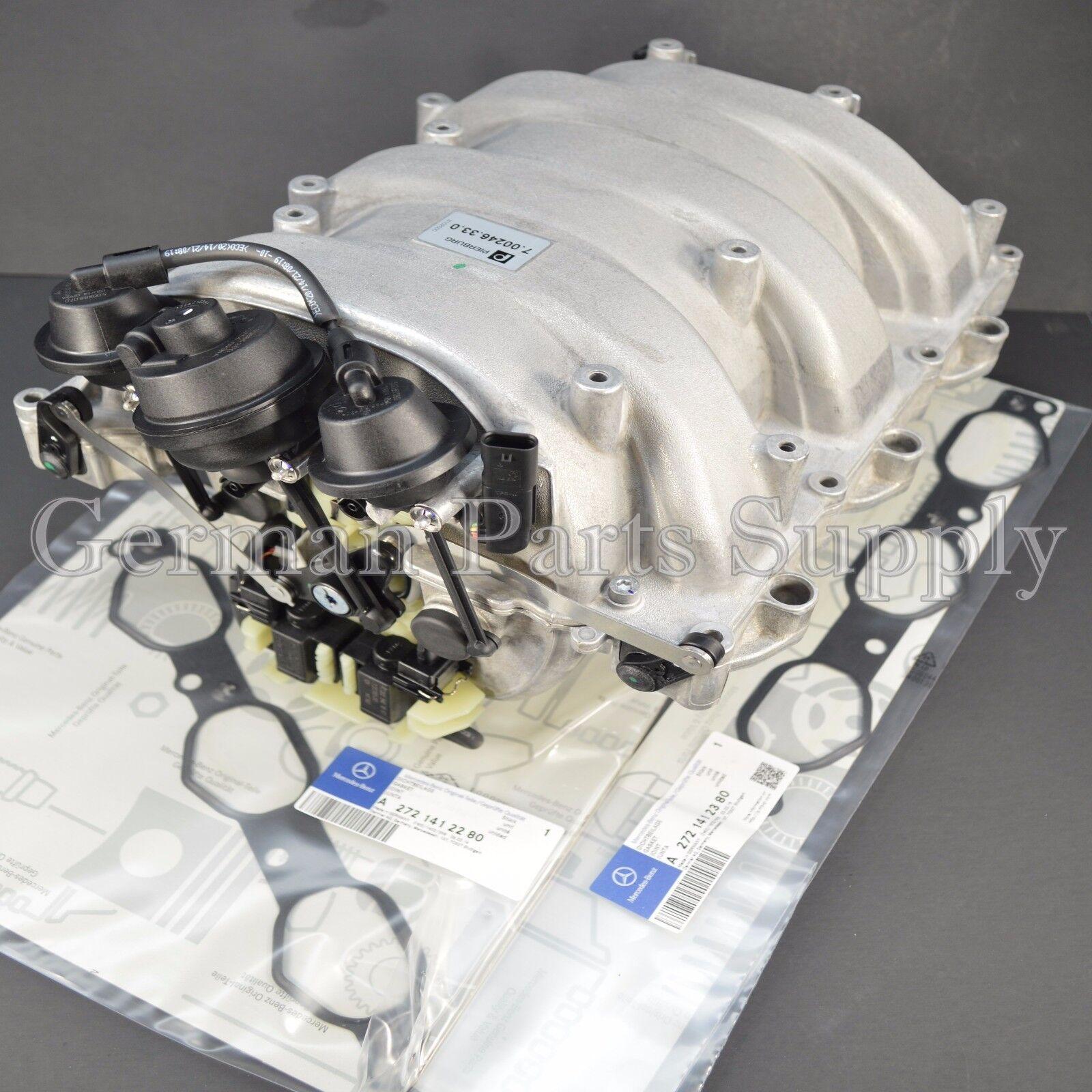 Mercedes benz pierburg intake engine manifold assembly for Mercedes benz intake manifold repair kit ebay
