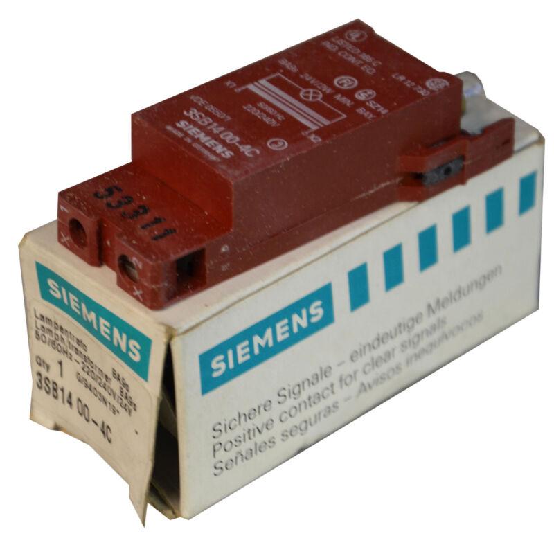 SIEMENS 3SB1400-4C TRANSFORMER LAMP 220/240V/24V--SA