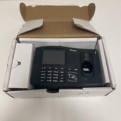 Synel Synergya 3000 Biometric Fingerprint Time Clock - Xacttime - Iclass