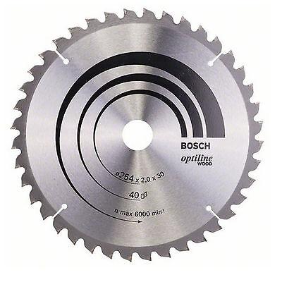 Bosch Kreissägeblatt Optiline Wood 254x30x2 mm 40T WZ/N - 2608640435