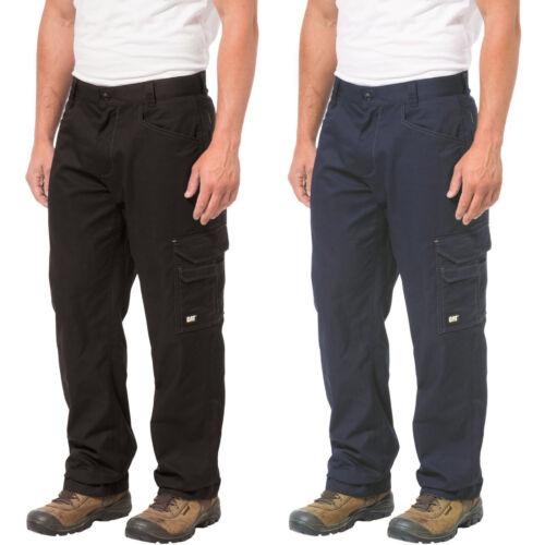 CAT Caterpillar Allegiant Trousers Mens Classic Fit Durable Cargo Work Pants