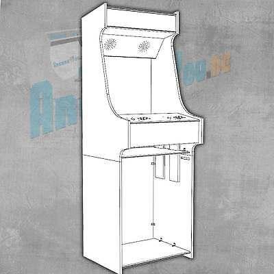 Arcade Mame Videospielautomat Arcade Cabinet Upright Bausatz