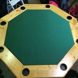 Hand crafted poker table