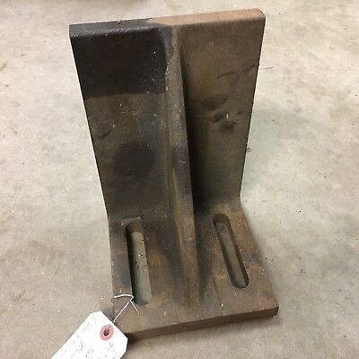 Machinist Machine Table 9-12 Tall End Stop Set-up Bracket B5056-24 Used