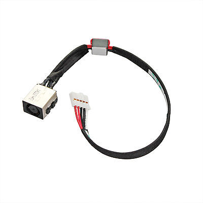 (AC DC Power Jack Socket Cable Harness Charging Port For Dell Latitude 3550 J4GMJ)