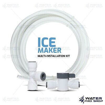Refrigerator ICEMAKER / FREEZER RO Ice Maker Kit for Water Filter Systems 1/4