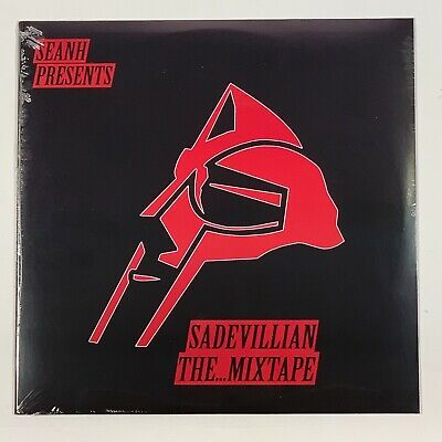 "Seanh Presents MF Doom Sade Sadevillain The Mixtape 1LP Vinyl Black 12"" Record"