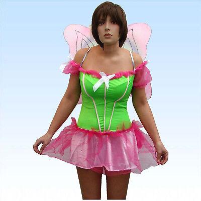 Kostüm Schmetterling Butterfly mit Flügeln Gr. XS/S Schmetterlingskostüm Damen