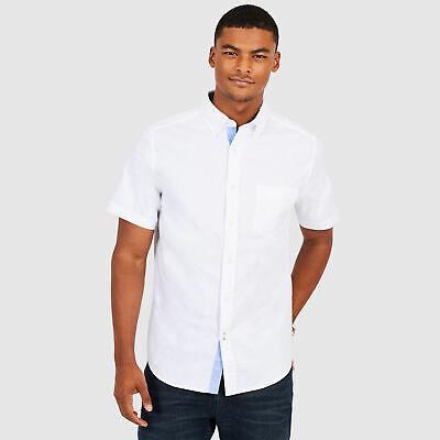 Nautica Mens Classic Fit Stretch Oxford Shirt