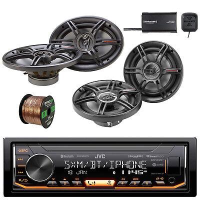 Car Stereo Wire (JVC BT Car Stereo w/Crunch 3-Way SPKR, CS693 Car SPKR, Enrock Wire & Radio Tuner)