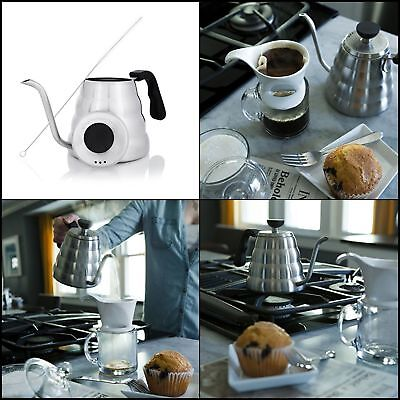 Pour Over Kettle Coffee Maker Stainless Steel Gooseneck Drip Home Kitchen Tool