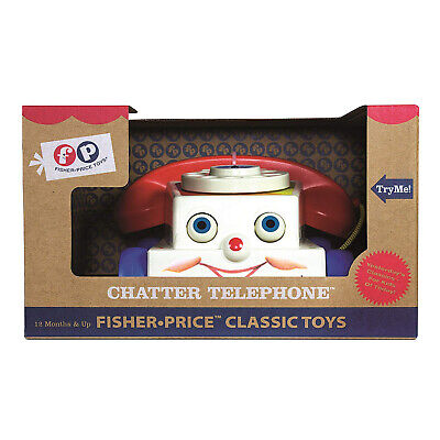 Classic Chatter Telephone - Fisher Price Chatter Telephone Classic Toy NEW IN STOCK Learning Toys