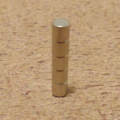 5 neodymium cylindrical 3 16 x 1